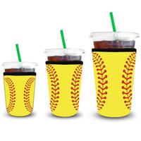 Maniche caffette ghiacciate 3 confezione riutilizzabile conduttore di caffè con la manica di caffè con tazza di tazza per bevande fredde Bevande in neoprene porta tazza OOB3907