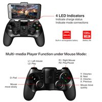Nuevo iPega 9076 PG-9076 Bluetooth GamePad Game Pad Controller Mobile Trigger Joystick para Android Cell Smart Phone TV Box PC PS3 VR