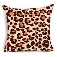Stampa monotizzata Animale Leopardo Cuccioli Decorativi Caso Super Soft Velvet Bianco e Bianco Pattern Zebra Pattern Cuscino Cover Sofà DWF4875