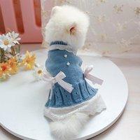 Dulce mascota ropa para perros para perros pequeños gatos shih tzu yorkshire disfraces abrigo chaqueta suéter princesa mascotas jlltrz