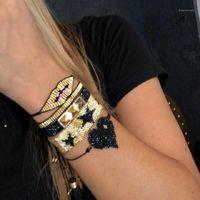 Zhongvi Miyuki Armband für Frauen Stern Herz Armband Schmuck Mexiko Gold Lippen Niet Pulseras Mujer 2020 Armband Bibleklik Woven1