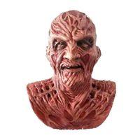 Killers Jason Máscara para la fiesta de Halloween Disfraz Freddy Krueger Horror Películas de terror Scary Latex Máscara 201026