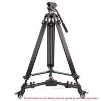 Штатики JIE YANG JY0606 алюминиевый штатив для профессиональной видеокамеры / видеокамеры / DSLR стенд