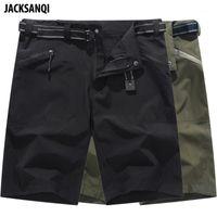 Calções ao ar livre Jacksanqi verão do verão Quick Seco Caminhada Sportswear Respirável Acampamento Pesca Running Masculino Curtas Curtas Ra3931