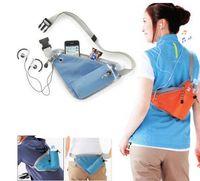 Laufen Taille Taschen Damen Herren Multifunktions-Wasit Tasche mit Flaschenhalter-Kasten-Beutel-Schulter für das Wandern Radfahren Laufen