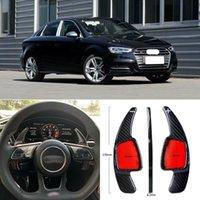 Copertura del cambio del volante del volante del dsg della fibra del carbonio della fibra del carbonio per Audi S3 17-18