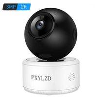 AI WIFI IP 카메라 3MP 2K HD 무선 보안 카메라 실내 AI 휴머노이드 탐지 H.265X 비디오 압축 야간 투시도 홈 CAM1