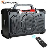 TopRoad 30W Bluetooth Speaker Portátil Big Power Party Sountbox SoundBox Suporte Remoto Controle FM Rádio Microfone1