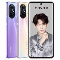 "Original Huawei Nova 8 5G Mobiltelefon 8 GB RAM 128GB 256GB ROM KIRIN 985 Android 6.57 ""Vollbild 64MP NFC Face ID Fingerprint-Handy"