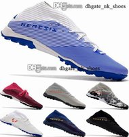 Nemeziz 19 TF Botas de fútbol zapatos Messi EUR 38 46 12 Schuhe Crampons de 19+ en Clases de fútbol Botines Botines Futsal Tamaño Tamaño de los Estados Unidos Hombres para hombre