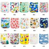 Nuovo negozio promozione 10 pz lavabile pannolino pannolino bambino riutilizzabile pannolini nuovissimi stampe babyland baby microfleece pannolino tasca stile LJ201023