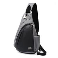 DXYIZU Yeni Anti-Hırsız Seyahat Gizli Göğüs Paketi Sacoche Homme İş Crossbody Çanta Erkekler için Messenger Omuz Sling Çanta Man1