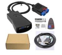 Lexia3 PP2000 LED Lite Diagbox V7.83 NEC para Citroen para PEUGEOT Automóvel Ferramenta de diagnóstico Multi-linguagem