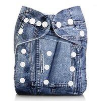 Baby Boys Gilrs Couches en tissu Réutilisable Nappy Nappy Lavable Pantalon Soft Soft Pantalon Couvre Culotte nourrisson Inserts Nouveau-né Sous-vêtement 1