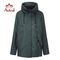Kadın Aşağı Parkas Astrid 2021 Kış Coat Kadınlar Uzun Sıcak Parka Moda Kalın Ceket Hood Biyo-Aşağı Yüksekliği Kaliteli Kadın Giyim 9298