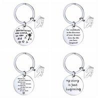 2021 الدراسات العليا المفاتيح المفاتيح الفولاذ المقاوم للصدأ فئة جامعة المدرسة مفتاح سلسلة طالب الدراسات العليا ميني الحب هدية