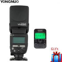 YONGNUO YN-685 YN685 C / N GN60 2.4G SYSTEM SYSTEM I-TTL HSS Wireless MANUALE FLASH Speedlite + YN622-TX Trigger flash per1