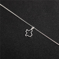 Pendant Necklaces 5 Hollow Outline Texas State Map Necklace Patriotic Country City USA American TX Status For Hometown Souvenir Jewelry