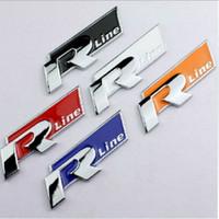 Otomatik Metal sığdırılmıştır Araba Etiket 3 D Stereo Araç plakası Rline Çinli Net Etiket Geri Kırmızı
