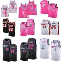 NCAA Jimmy 22 Butler Dwyane Wade 3 Alonzo Mourning 33 Kendrick 25 Nunn PINK PANTHER 3 BASQUETEBOL Mens College Basketball Jerseys