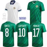 2021 2022 북 아일랜드 축구 유니폼 Davis Magennis McNair Lafferty 20 21 22 홈 멀리 축구 남성과 어린이 소년 셔츠