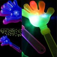 Clapper Led Light Chears Prop Moly Color Clap Hands Giocattoli Luminescenza fluorescenza Palma Beat Beat Fabbrica Vendita diretta 1 3CT P1