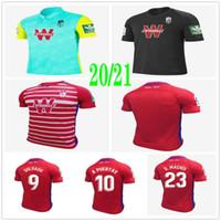 رجل + الاطفال 2020 2021 لكرة القدم بالقميص غرناطة 20 21 غرناطة CF المنزل بعيدا الثالثة سولدادو هيريرا أنتونيو بويرتا قمصان كرة القدم مخصصة زي
