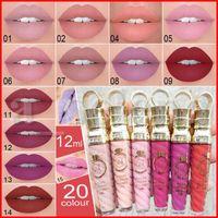 CmaaDu 20 cores Matte metal Lip Gloss Líquido Matte Batons Pérola Non-stick Copa 24 horas maquiagem à prova d'água Lipgloss