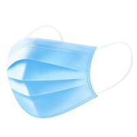 DHL Ücretsiz Nakliye 100 ADET Tek Kullanımlık Yüz Maskesi 3-katmanlı Yüz Maskesi Koruma Ve Kıyafet Ağız Yüz Sağlık Maskeleri ile Kişisel Sağlık Maskesi