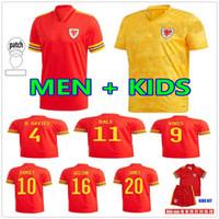 2021 ويلز لكرة القدم الفانيلة المنتخب الوطني الصفحة الرئيسية Bale James Ramsey Men Kids Mailleot De Football Shirts Allen Vokes Camiseta Futol Offe