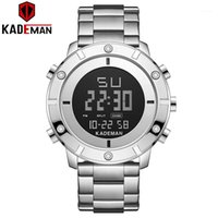 KADEMAN NOVO Moda Homens Wrist Watch Top Brand Dual Display LCD K9151 Relogio Masculino1