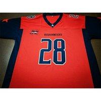 Benutzerdefinierte 123 Jugendfrauen XFL Houstons Grobbecks 11 Phillip Walker 28 Harris Football Jersey Größe S-4XL oder benutzerdefinierte Jedes Name oder Nummer Jersey