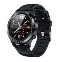 Smart Armbands L12 Armband, Anrufuhr Herzfrequenz Blutdruck Schlafüberwachung Musik Sport Armband1