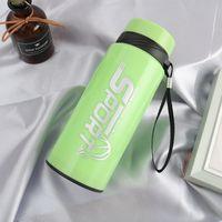 Plastik Kabuk Cam Bardak Açık Havada Taşınabilir Spor Tumblers Reklam Hediye Su Şişesi Saf Renk Isıya Dayanıklı Sıcak Satış 6TXA J1