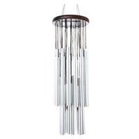 Antiguo chimes de viento 27 tubos 5 campanas, al aire libre, al aire libre, patio de viento, tubos de jardín, campanas, chimes de viento, Jllrsf, calientes,