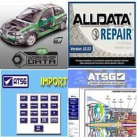 2020 hot Todos os dados Auto Repair Macio-ware Alldata 10,53 para carros e caminhões em 750GB HDD suporte técnico via Teamviewer