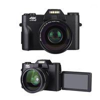 Dijital Kameralar Kamera 4 K 3.0 Inç LCD Çevirme Ekran Video 16x Zoom HD Çıkış Desteği Wifi Selfie Kam DVR Kamera1