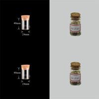 10 ملليلتر أنبوب اختبار صغير مع كورك سدادة زجاج زجاجات التوابل حاوية الجرار 24 * 40 ملليمتر diy كرافت شفافة مستقيم الزجاج زجاجة HH 20 N2