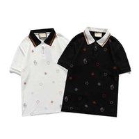 Mode Hommes Summer Polos Nouvelle Arrivée Mens T-shirt T-shirt Haute Qualité Polos Chemises Streetwear Respirant Polo pour homme