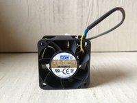 Revolución de enfriamiento DB04028B12U FAN DE 40MM 4CM 4028 40x40x28mm 12V 0.66A rodamiento de bolas dual de 4 hilos 4pin PWM Server Power Airflow Cooler