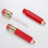 DIY Kalem Dudak Parlatıcı Tüp Konteyner Temizle Dudak Tüpler Kalem Şekli Ruj Doldurulabilir Şişeler Şişeleri Mini Numune Konteyner GGD2189