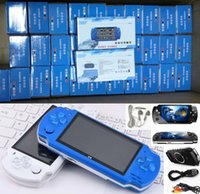 PSP Oyun Deposu Klasik Oyunlar TV Çıkışı Taşınabilir Video Oyunu Player için PMP X6 El Oyun Konsolu Ekran