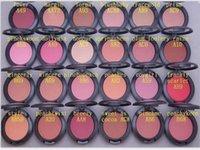 FACE TRUCCO Sheertone Blush 24 colori Blush Palette 6G No Brush Polder Shimmer Blush Spedizione gratuita