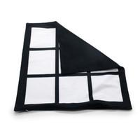 빈 승화 베개 케이스 40 * 40cm 블랙 그리드 열전달을 던져 쿠션 커버 홈 소파 베개 CCA12601의 60PCS