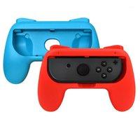 게임 컨트롤러 조이스틱 왼쪽 + 오른쪽 조이콘 브래킷 홀더 핸들 손잡이 케이스 스위치 - 콘 컨트롤러 게임 패드 핸드 그립 스탠드 ABS1
