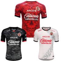 2020/21 Tijuana Soccer Jersey 2021 Mens MX Club Edição Especial Dia de Muertos Manga Curta Camisas de Futebol