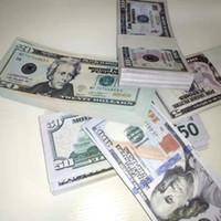 Dollari US Dollari Prop 1 5 10 20 50 50 100 Dollars Bills Valuta Party Falso Gioca Play Soldi Bambini Giocattoli Giocattoli