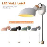 Nordic Led Wall Light 4W AC 110-240V Modern Bedroom Bedside Sconce Wall Lamp Lighting Minimalist Indoor Light Fixture1