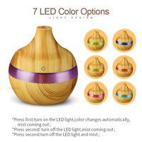 300 ml Tahıl Nemlendirici USB Ev Renkli Glow Aromaterapi Makinesi Araç Uçucu Yağ Difüzör Hava Fresher Atomizer Yeni 13 6BH K2