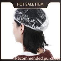 Hotel Shower Clear Disposable Hat Fashion One- Off Hot Elasti...